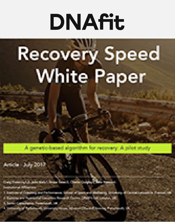 Recovery speed white paper