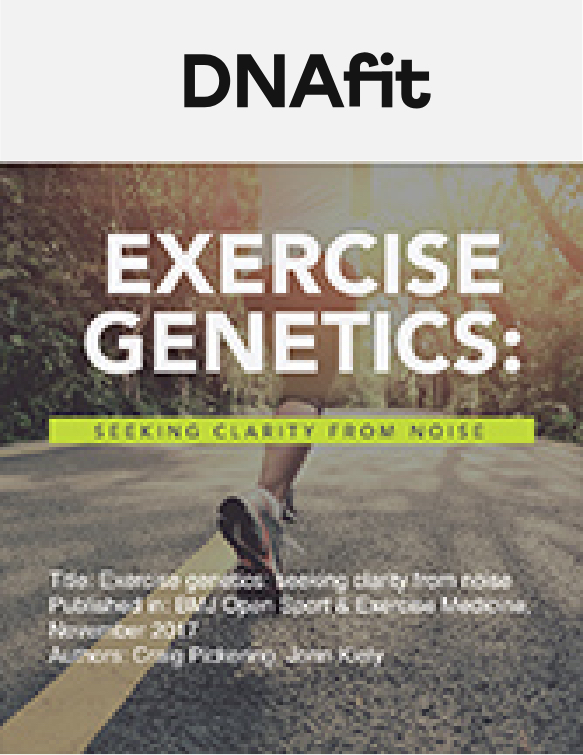 Exercise genetics: seeking clarity from noise