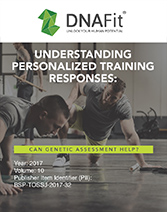 Understanding personalized training responses