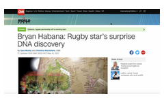 Bryan Habana: Rugby star's surprise DNA discovery