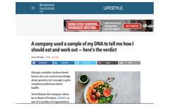 A company used a sample of my DNA to tell me how I should eat and work out — here's the verdict