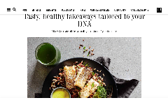 Tasty, healthy takeaways tailored to your DNA