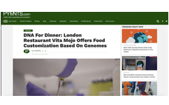 Dnafit media centre for the latest news published articles us dna for dinner london restaurant vita mojo offers food customization based on genomes malvernweather Image collections