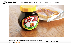 Love Marmite? The reason could be in your genes, study finds