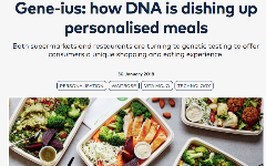 Gene-ius: how DNA is dishing up personalised meals