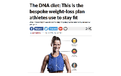 The DNA diet: This is the bespoke weight-loss meal plan athletes use to stay fit