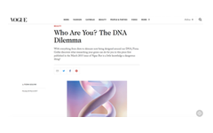 Dnafit media centre for the latest news published articles us who are you the dna dilemma malvernweather Image collections