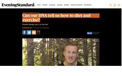 Dnafit mediecenter for de seneste nyheder publicerede artikler can our dna tell us how to diet and exercise malvernweather Image collections